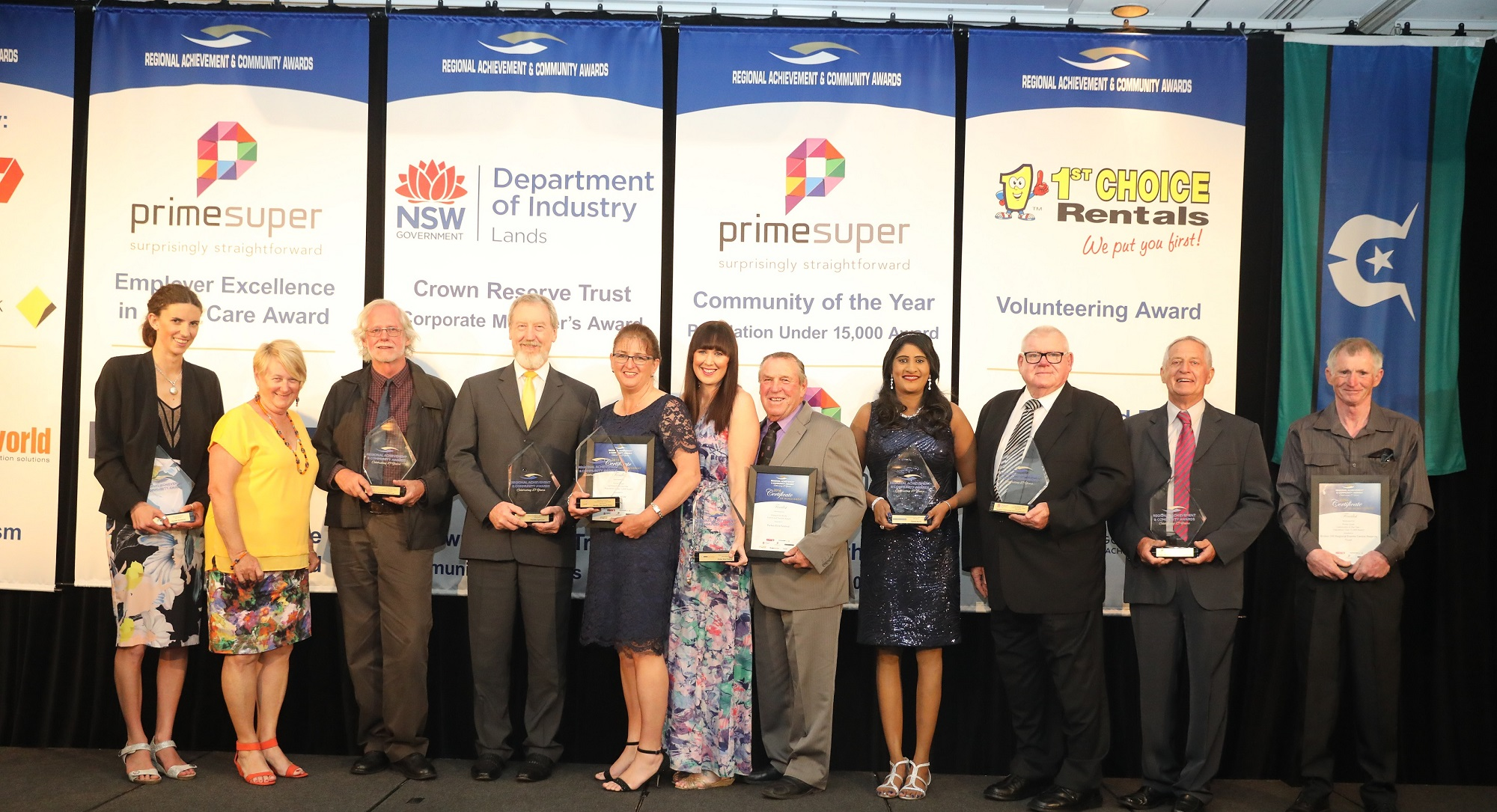 NSW/ACT Regional Achievement and Community Award Winners