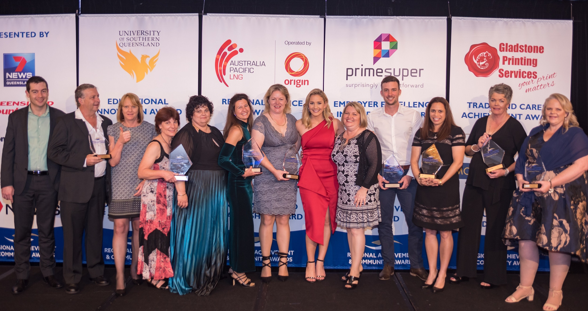 Queensland Regional Achievement and Community Award Winners