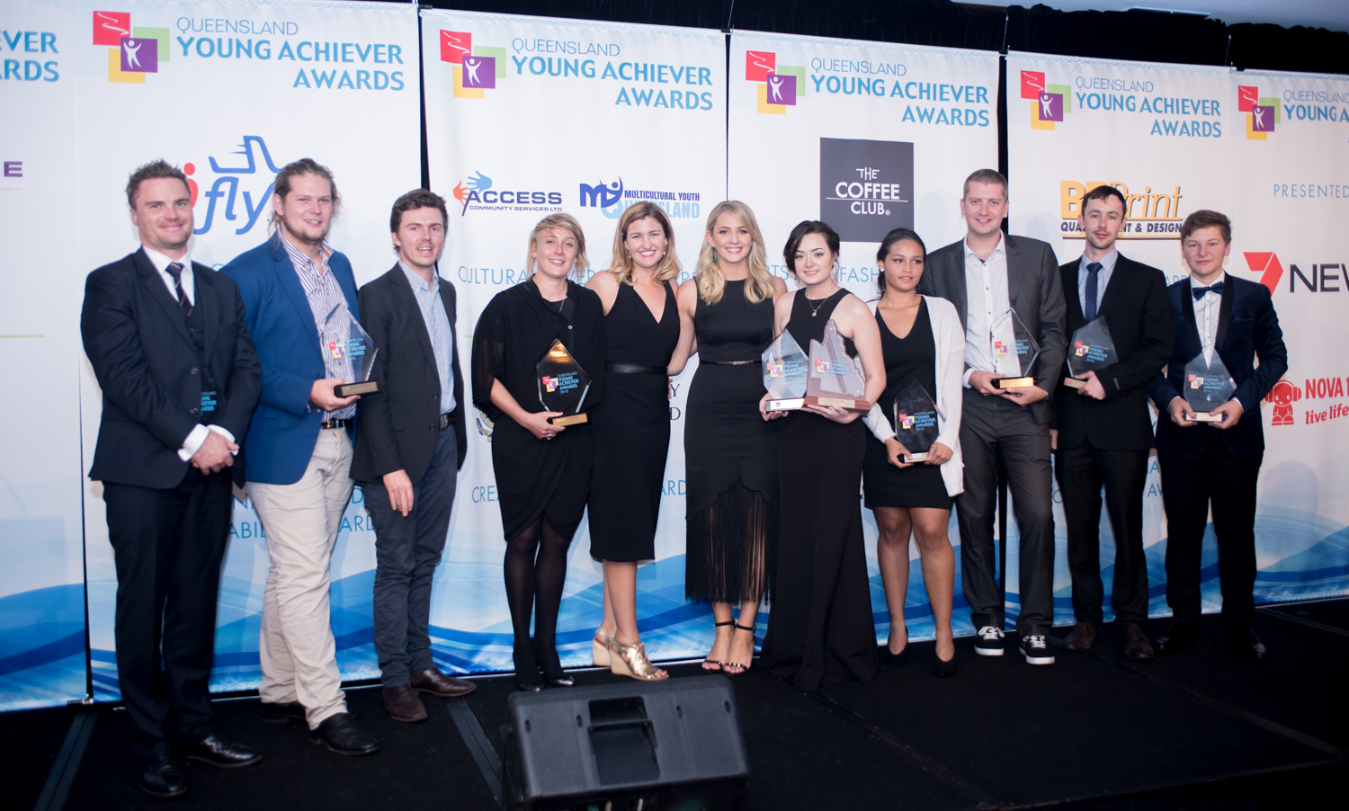 Queensland Young Achiever Award Winners