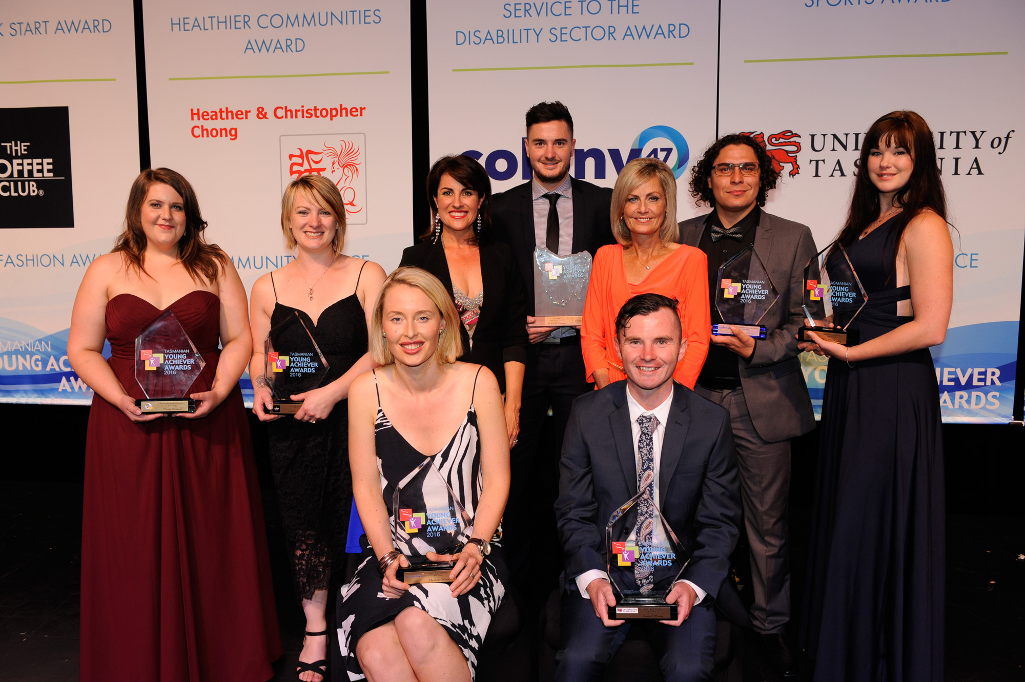 Tasmanian Young Achiever Award Winners