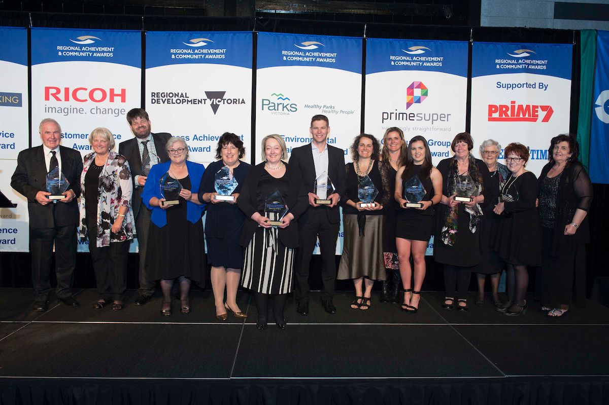 Victorian Regional Achievement and Community Award Winners