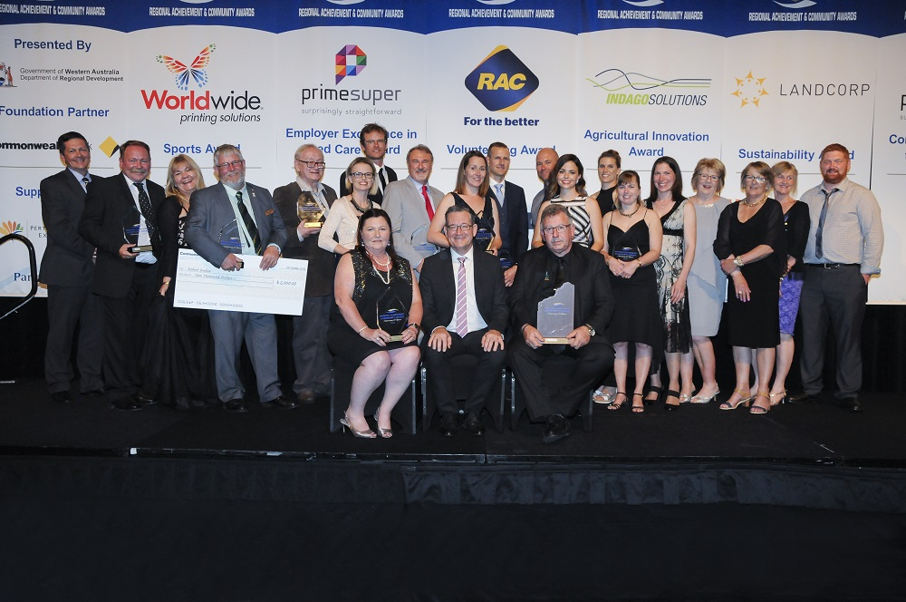 Western Australian Regional Achievement and Community Award Winners