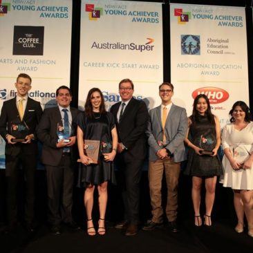 NSW/ACT Young Achiever Award Winners