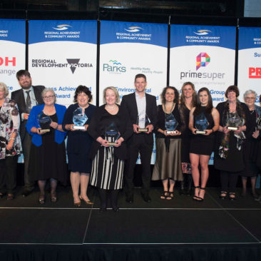 Victorian Regional Achievement Awards Winners